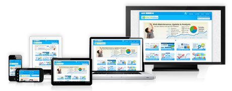 Responsive web design accounts for a variety of platforms